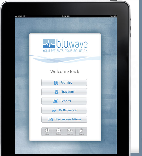 bluwave screen